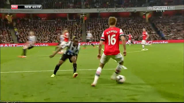 Ramsey, Arsenal - Newcastle