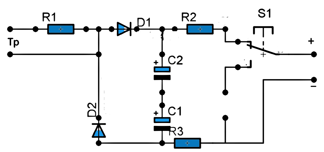 Simple Transistor Circuits together with Bidirectional Photoelectric System also Light Switch additionally Touch L  Sensor Wiring Diagram additionally Humidity Sensor Circuit. on sensitive light switch circuit diagram