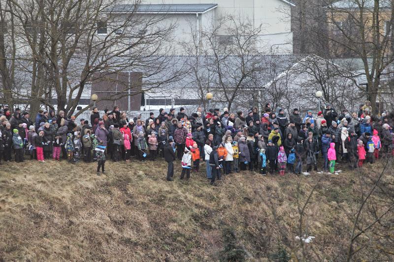 Парад по случаю 97 годовщины независимости Эстонии. Часть 2. Вид сверху.