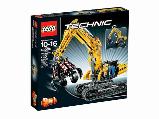 42006 レゴ テクニック パワーショベル
