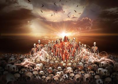 Resultado de imagem para ossos e ressurreição