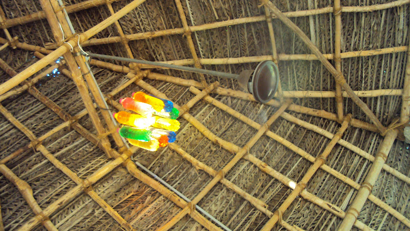 Ideas for recycling from Dune Hotel, Pondicherry