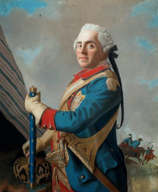 Jean-Etienne Liotard - Marshal Maurice de Saxe
