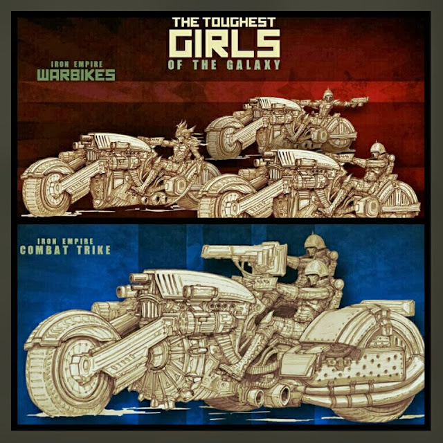 Motorbike and Combat Trike Iron Empire