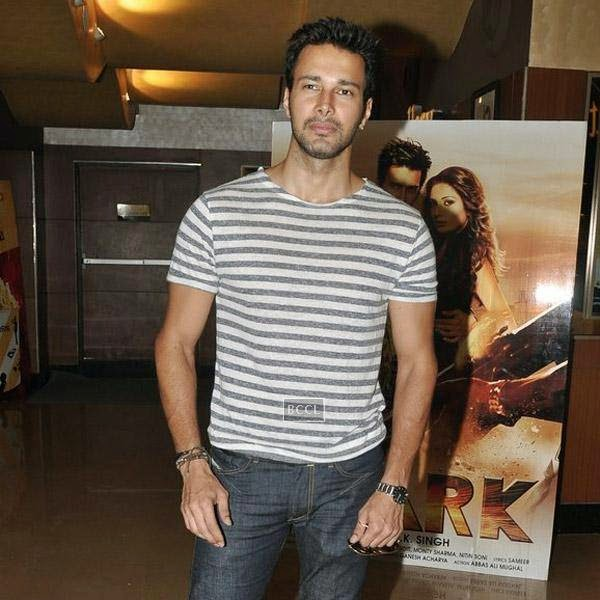 Rajneesh Duggal at the trailer launch of Bollywood movie Spark, held at PVR in Mumbai, on July 21, 2014.(Pic: Viral Bhayani)