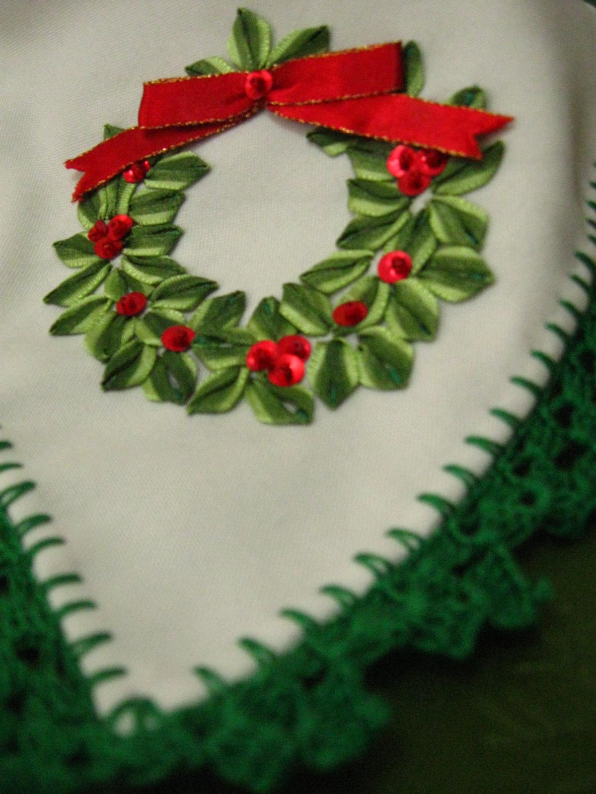 Bordados en cinta navide os imagui - Dibujos navidenos para bordar ...
