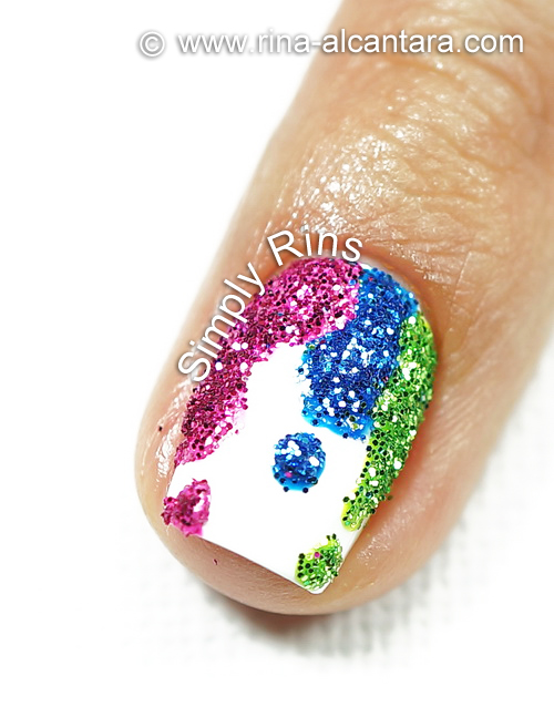 BYS Glitter for Nails - Dripping