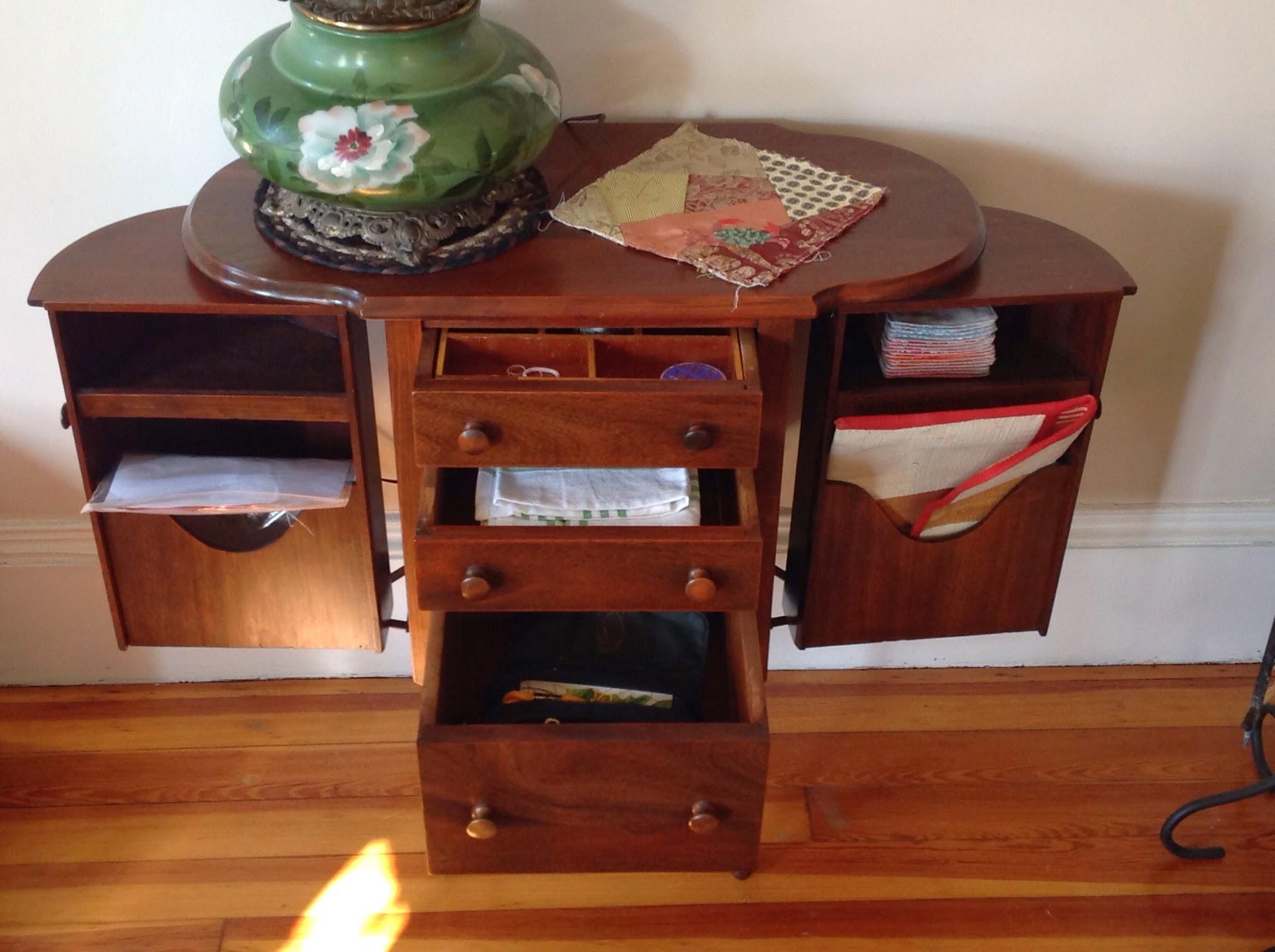 Threading Along: A Martha Washington sewing cabinet