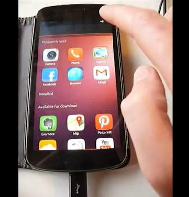 Canonical muestra un vídeo corriendo Unity 8 con Mir en un Galaxy Nexus