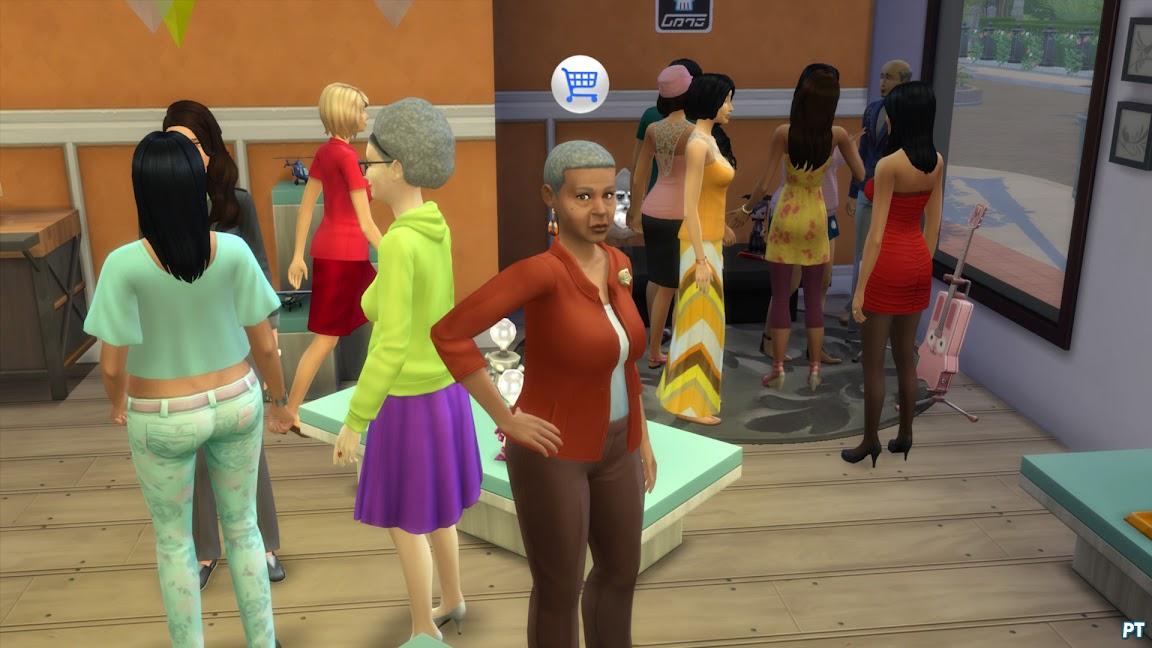 De Sims 4 Aan het Werk winkel runnen