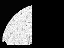 Image de corrélation à mi-parcours des blocs par Micmac