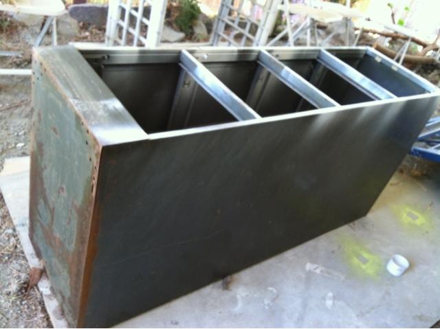 File Cabinet Planter Box & Chell Design It- DIY Project Adventures: File Cabinet Planter Box