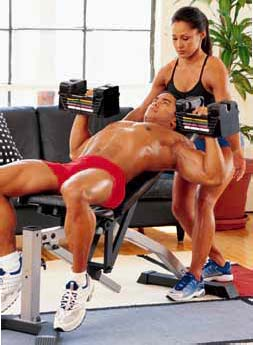 BODYBUILDING ROUTINES : FULL BODY : MULTI-ANGLE DUMBBELL PRESS