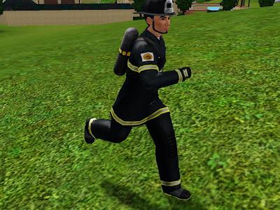 карьера пожарного симс 3