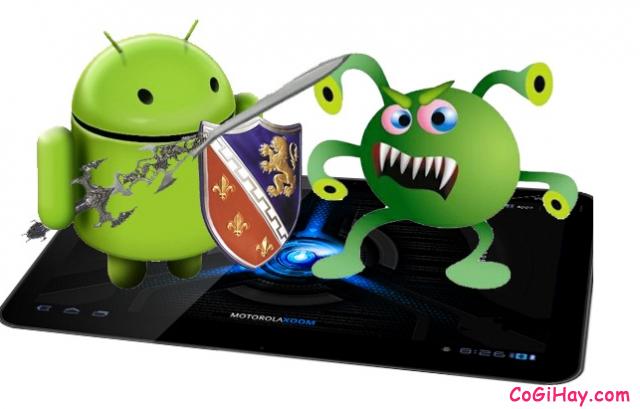 Diệt virus cho điện thoại Android của Samsung, HTC, Lenovo, LG, Sony…