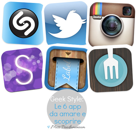 app review, twitter, instagram, shazam, forkly, stylosophy, labelbox, geek, iphone, android