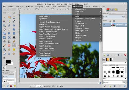 GIMP Plugin Registry ora anche per Gimp 2.8