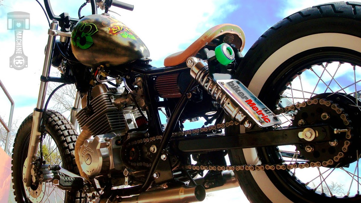 kyle's honda rebel by machine-13 - bikerMetric
