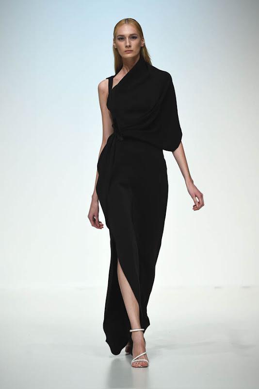DUBAI, UNITED ARAB EMIRATES - APRIL 12:  A model walks the runway at the Said Mahrouf show during Dubai Fashion Forward April 2015 at Madinat Jumeirah on April 12, 2015 in Dubai, United Arab Emirates.  (Photo by Ian Gavan/Getty Images for Fashion Forward)