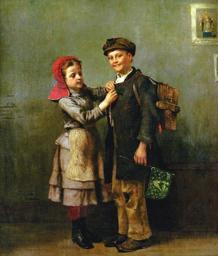 John George Brown - Saint Patrick's Day