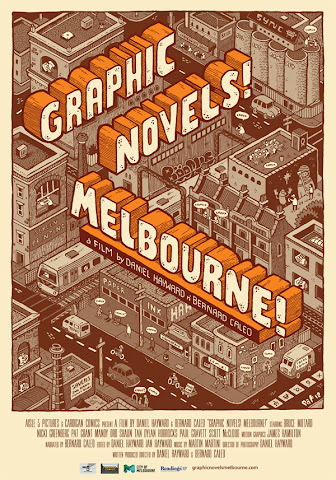 Graphic Novels Melbourne film poster
