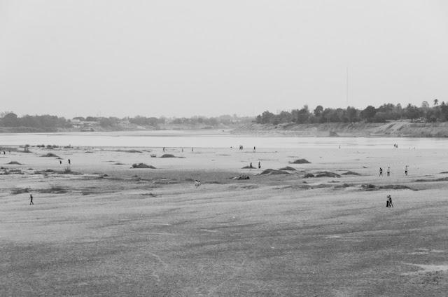 Mekong vo Vientiane, Laos