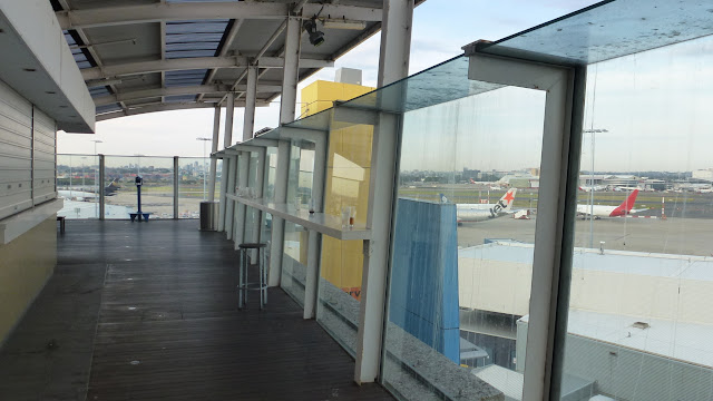 Observation deck, Sydney Airport