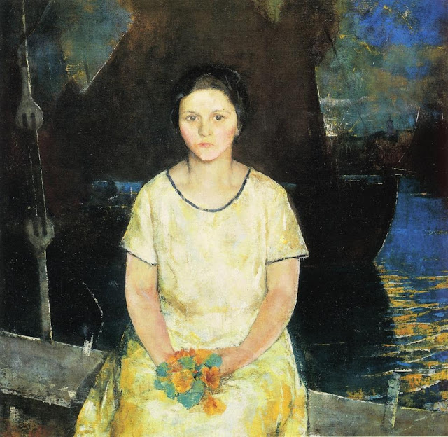 Charles Webster Hawthorne - The Fisherman`s Daughter