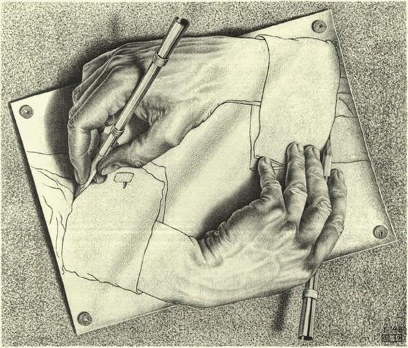Dibujar gracias a la oposición del dedo pulgar