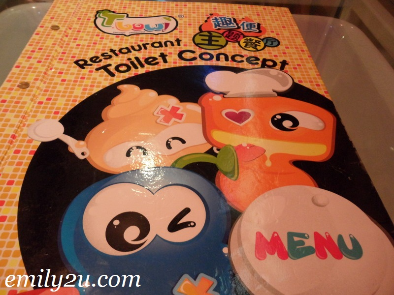 Toilet Bowl Concept Restaurant