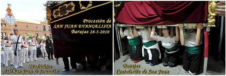 Tod@s Sanjuanistas: La Agrupación Musical San Juan de Jerusalén de Madridejos, acompañando a l@s costaler@s de San Juan Evangelista de Barajas = 589 FOTOS