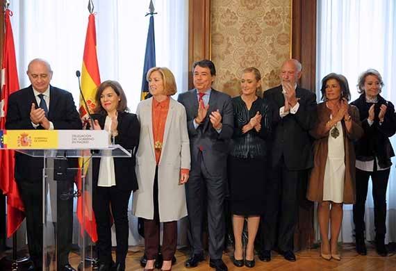 Concepción Dancausa, nueva delegada del Gobierno en Madrid