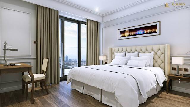 Phòng ngủ hiện đại tại Golden Square
