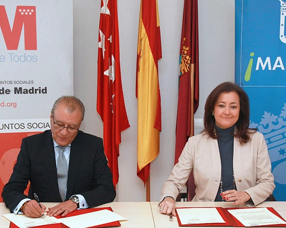 Ayuntamiento y Comunidad de Madrid firman un Convenio sobre dependencia