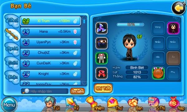 Teen Teen công bố tính năng định vị người chơi 1