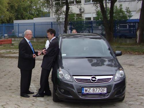 Opel CNG na wystawie Blue Corridor 2012 w Warszawie