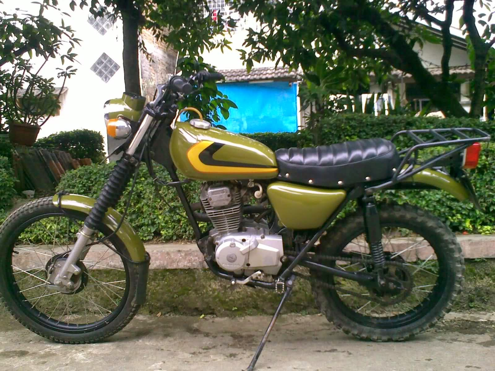 Jual Motor Cafe Racer Surabaya