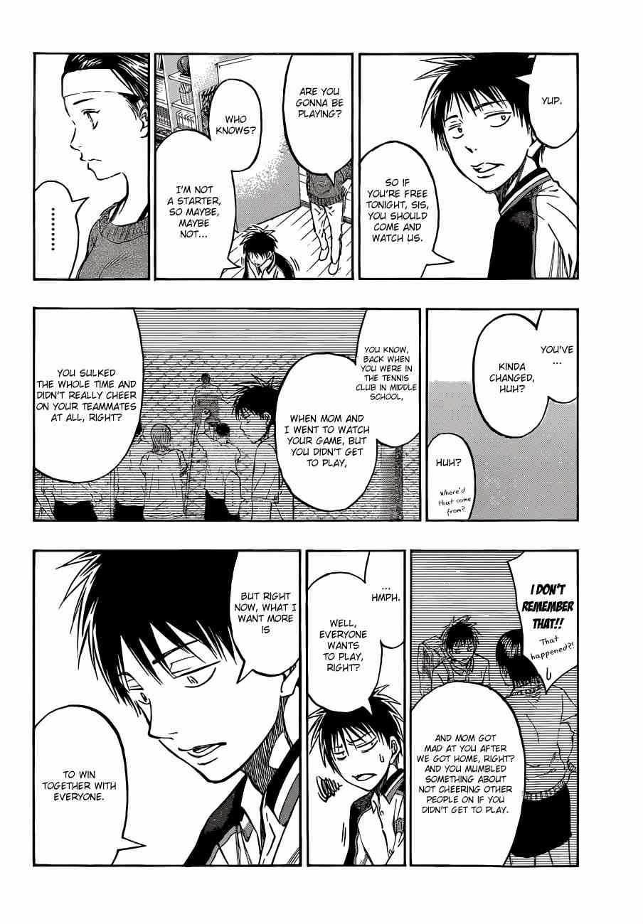 Kuroko no Basket Manga Chapter 229 - Image 09