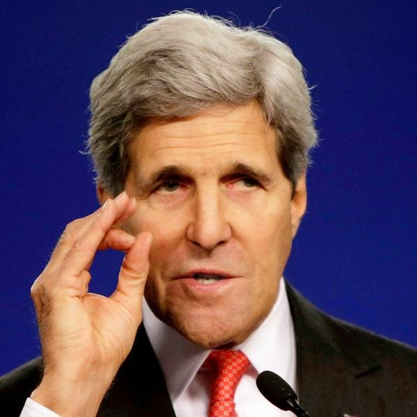"""The bigger picture has to guide us and the end game has to guide us,"" Kerry said."