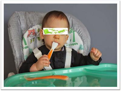 Chaise haute Mimzy de Joie test de bébé