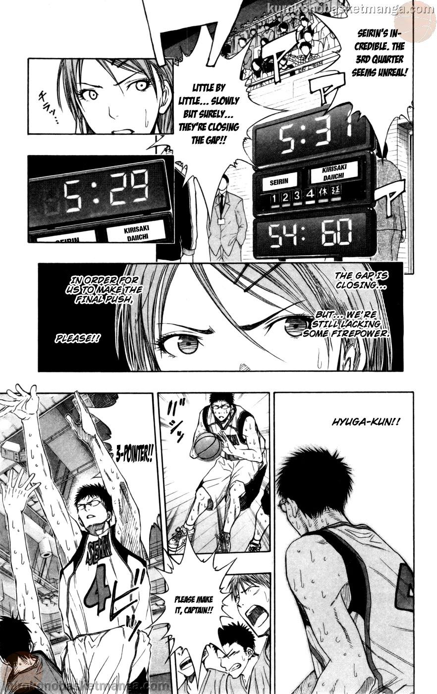 Kuroko no Basket Manga Chapter 105 - Image 15