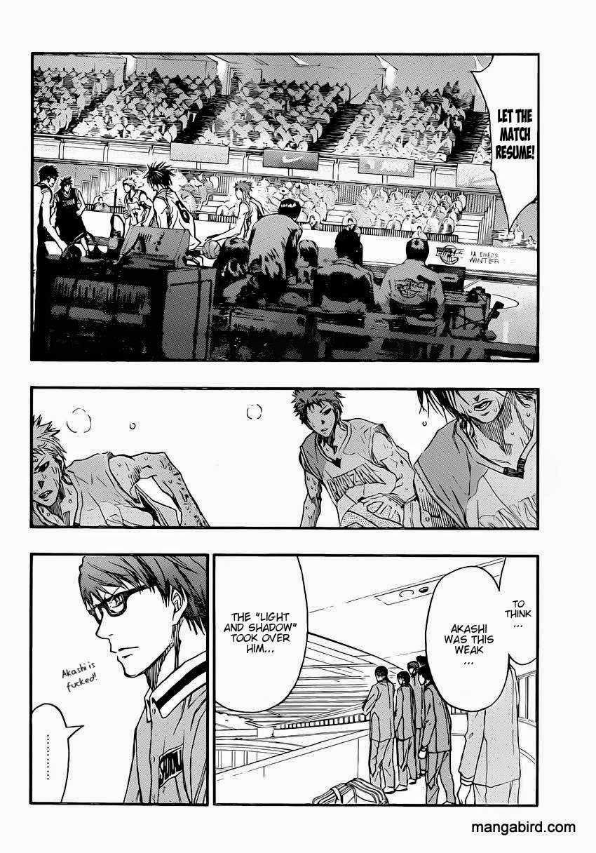 Kuroko no Basket Manga Chapter 265 - Image 08