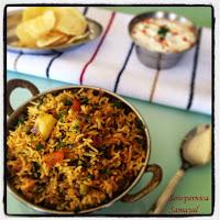 http://www.sowpernica-samayal.com/rice-varieties/methi-peas-biriyani