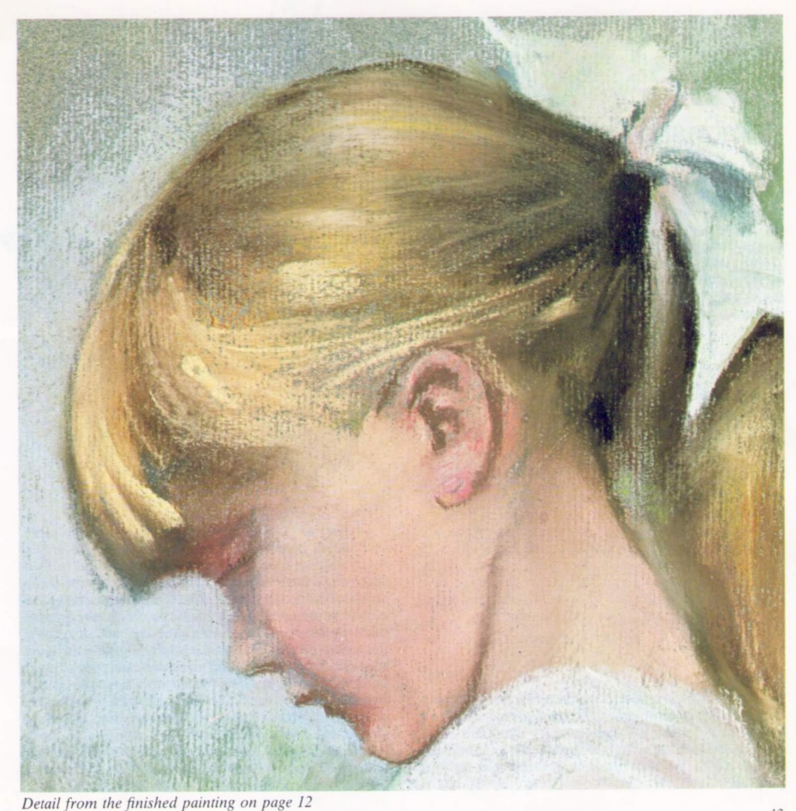 Emma : a pastel portrait Demonstration by Dennis Frost