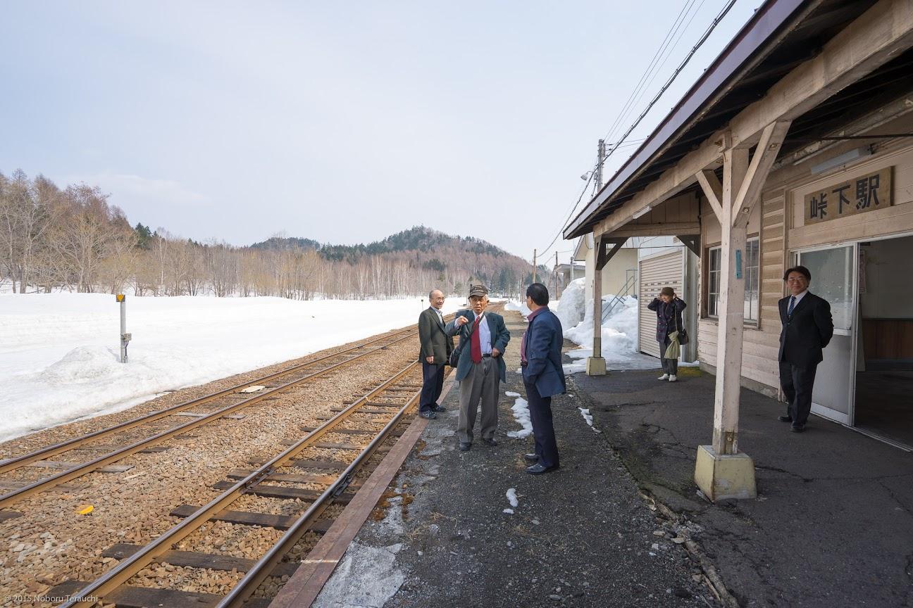 北海道旅客鉄道(JR北海道)留萌本線「峠下駅」