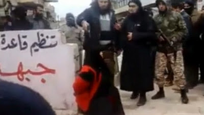 BLOODY: this even irritated Isis, woman executed by Jihadists for running a brothel + pics