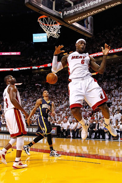 LeBron amp Wade Shine as Miami Heat Take Control of the Series