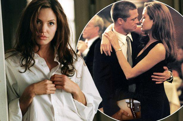 How 'naked' Angelina Jolie seduced Brad Pitt during sex scenes as rumours  fly about his love life - Irish Mirror Online