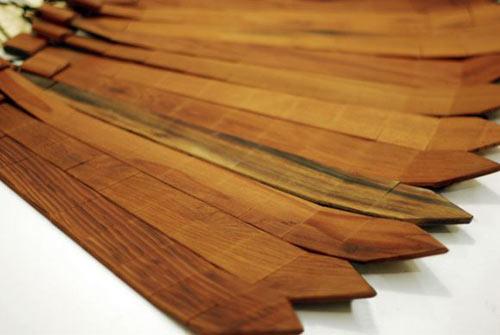 супер яка и секси дървена вратовръзка