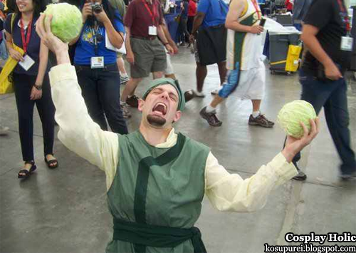 avatar: the last airbender cosplay - cabbage merchant